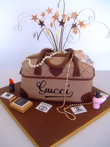 Gucci Handbag Cake Designs
