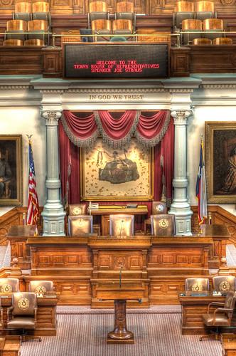 Speaker's Seat, Texas House