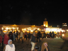 Djemaa el Fna at Night (prairieblazingstar) Tags: morocco marrakech djemaaelfna