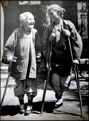EXPRESSIONS OF LOVE in OLD CHINA -- An Elderly Mother Escorts Her Daughter