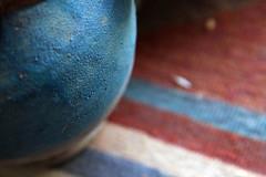 Blue jar (HORIZON) Tags: blue red persian photographer iran bokeh horizon persia jar 5d iranian esfahan isfahan gleem bluejar nesfejahan canon24105mmf4lisusmlens focallenght105 exposuretime18 fnumber56 canoneos5dmarkll takenduringnewyearholidays