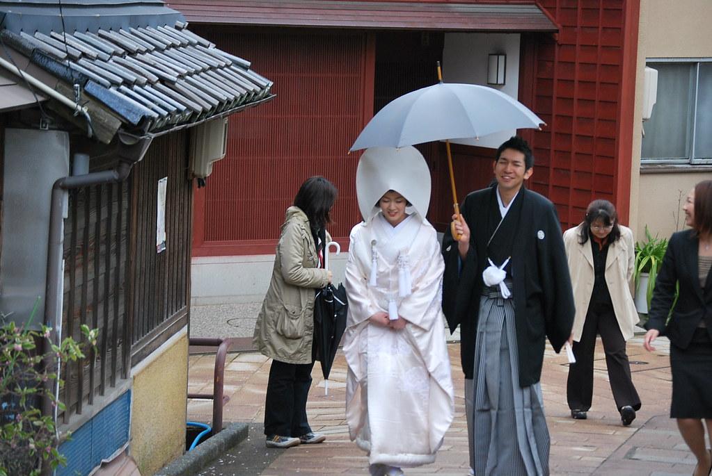 Boda sintoísta en Kanazawa