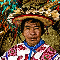 """ Shaman Healer "" (Alfredo11) Tags: old portrait man texture textura colors face wearing look hat proud colours dress native expression retrato traditional cara oldman colores clothes alfredo sombrero tradition capture adorn emotions tones mirada gaze viejo wrinkle hombre rostro vestido indigenous apparel treatment tradicion wrinkly tratamiento adornos accomplishment tradicional captura altivo haughtiness orgullo expresion arrugas vestir vestuario arrugado nativo emociones tonos vestimenta adorning altivez orgulloso nikoncreativelightingsystem nikon1755mm28 pridde nikond300 loftiness inidigena"
