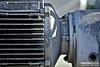 Dish Motor (a.d.miller) Tags: texture lines metal closeup canon industrial florida motor pensacola heatsink 28135mmis 40d coolingfans