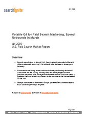 SearchIgnite Q1 2009 Paid Search Report