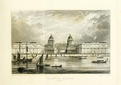 001- Hospital de Geenwich Kent 1830