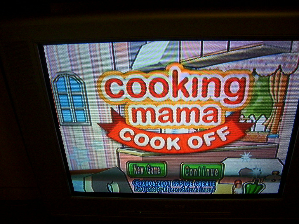 About to play Cooking Mama