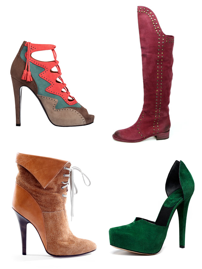 Fall 2009 Shoe Trend: Suede