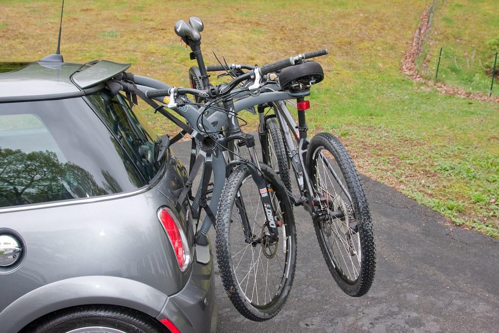 Mini Cooper Bike Rack