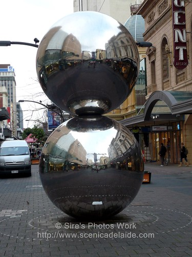 Rundle Mall Steel Balls