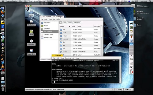 FreeBSD 7.2 in VMware Fusion