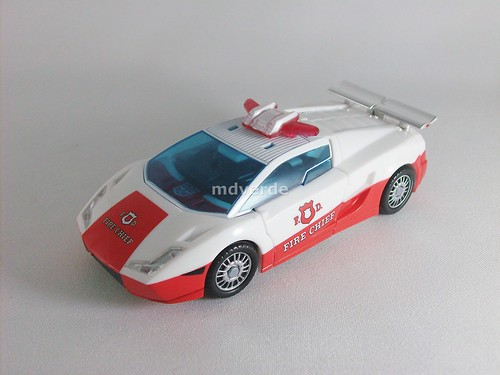 Transformers Red Alert Classics Henkei - modo alterno