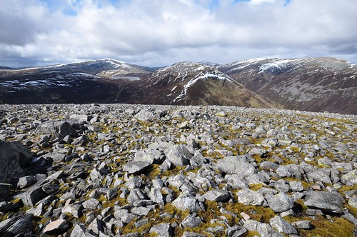 Glas Tulaichean and Beinn Lutharn Beg and Mhor