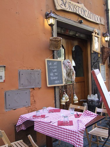 Restaurant in the old town