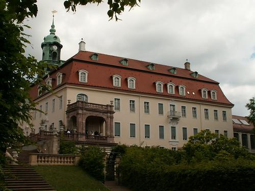 Barockschloss Lichtenwalde mit Barockgarten und Schlosspark