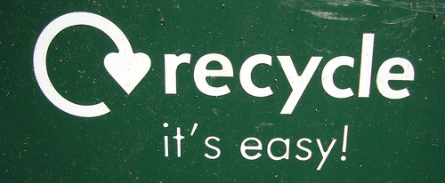 Recycle Logo From Recycling Bin by chrissatchwell, on Flickr