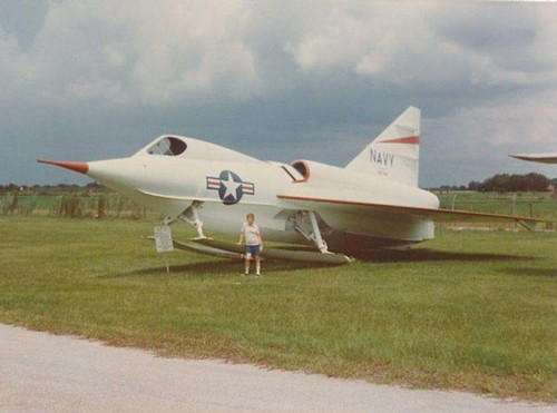 Warbird picture - F2Y Sea Dart - SST Museum in Kissimmee, Florida