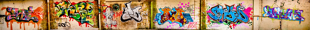A5 Furniture Large Graffiti Wall