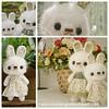 Cutie Bunnies (rabbizdesign) Tags: doll handmade crochet fluffy amigurumi yarnamigurumifluffycrochetdollhandmade