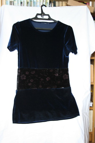 Refashion: One useable top from two short ones