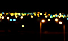 Short-sighted (myopia) (alsay) Tags: light lamp night dark glasses blurry shortsighted panasonic vision myopia fz28