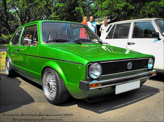 Golf Mk1 (Lons1) Tags: golf volkswagen 1 hungary mark low budapest cult rs bbs mk i