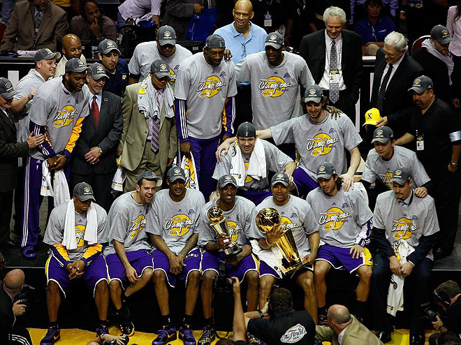LA Lakers, campeones de la NBA