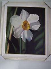 quadros%20017 (Ana Criistina) Tags: flower artes narciso pintura leo tela