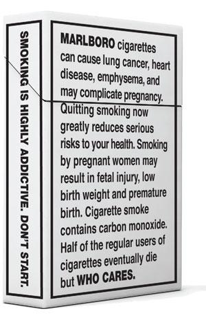 Pentagram takes on tobacco