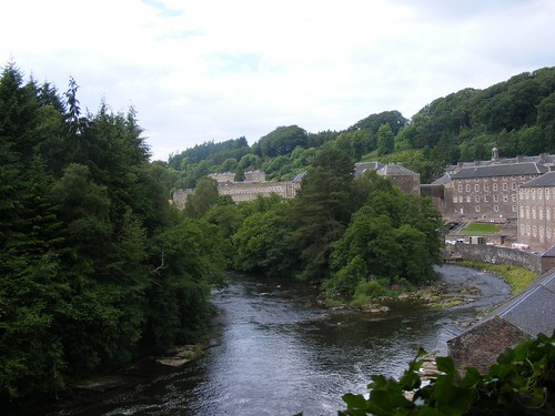 Another view towards New Lanark