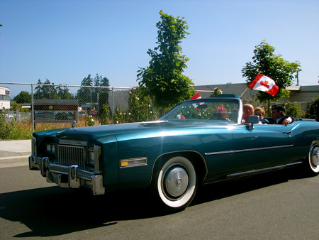 Canada Day Parade on July 1