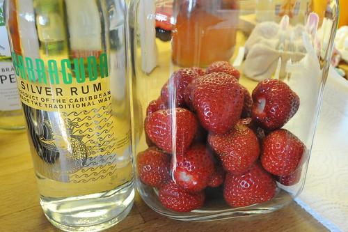 苺+Rum+バニラ