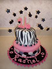 Happy 16th birthday cake (Cake-a-rama) Tags: birthday cake sweetsixteen fondant