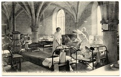 Healing at the Abbey (c.1915) (postaletrice) Tags: old paris france abbey architecture century vintage hospital de french geotagged ledefrance beds antique postcard wounded wwi antigua health worldwari stove rest postal resting sick healing 1915 greatwar cistercian francia nurses firstworldwar cisterciense postale sant carte ancienne lits francesa abada salud abbaye enfermeras camas tarjeta hpital cpa valdoise franaise shaftoflight premireguerremondiale royaumont malades enfermos primeraguerramundial grandeguerre heridos baillon cistercienne asniressuroise blesss infirmires xiiith geo:lon=491316 geo:lat=23591