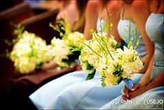 Bouquets of the Merani Bridesmaids (arminausejo) Tags: seattle wedding church washington nikon holy bridesmaids armin rosary bouquet d200 ausejo arminausejo
