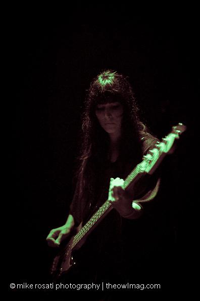Malia James - bass