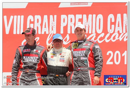 Podium General 1ª Carrera