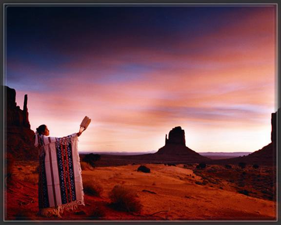 Monument Valley,amerindiens