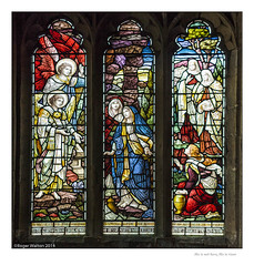 He is not here, He is risen (Roger Walton) Tags: uk england buildings easter yorkshire jesus churches stainedglass angels allsaints religiousbuildings bvm gardenofgethsemane blessedvirginmary marymotherofjesus biblicalcharacters scripturalreferences lowcatton