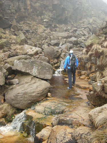 Waterfall on Kinder Scout