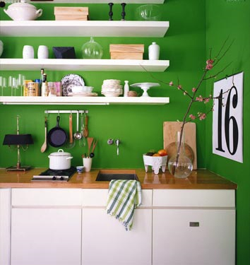 Green Kitchen Design, Green Kitchen Design photos, Green Kitchen Design pictures, Green Kitchen Design idea
