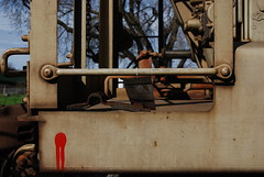 Blood On The Rails (All Seeing) Tags: graffiti aerosol hoppers reddot