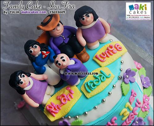 Family Cake Ibu Fira_ - Maki Cakes