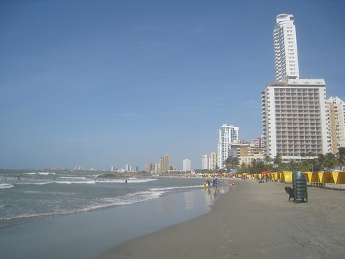 The public beaches