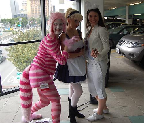 Wonder Con 2009: Wonderland Parking