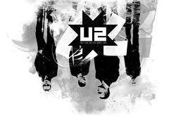 U2 No line on the horizon remix (fabienbarral) Tags: print u2 design moments graphic horizon identity anton imaginary exchange logotype corbijn fabien barral nolinegraphic