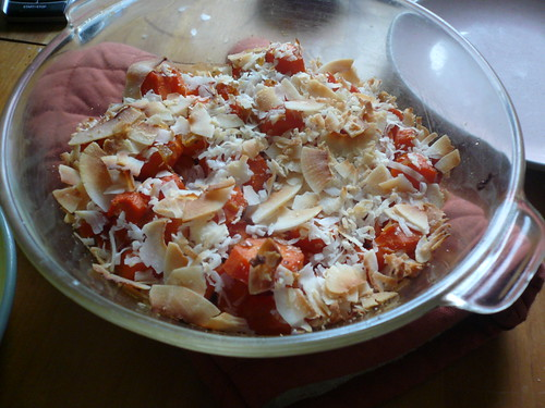 Coconut Ginger Carrots