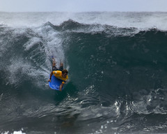 Dropping in at Pipeline (ScottS101) Tags: hawaii surf australian wave winner pro aussie pipeline iba ehukai sponger bodyboarder ryanhardy chsampion