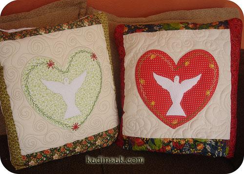 kumaş yastık yapımı www.kadinsak.com