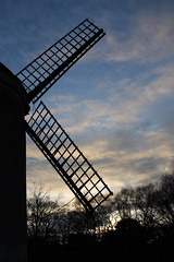 Bidston windmill silhouette (mike_walker2000) Tags: windmill silhouette bidston bidstonwindmill